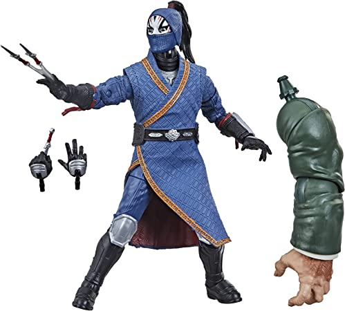 Marvel Hasbro Legends Series Shang-Chi and The Legend of The Ten Rings 6-inch Collectible Death Dealer Action Figure Toy for Age 4 and Up