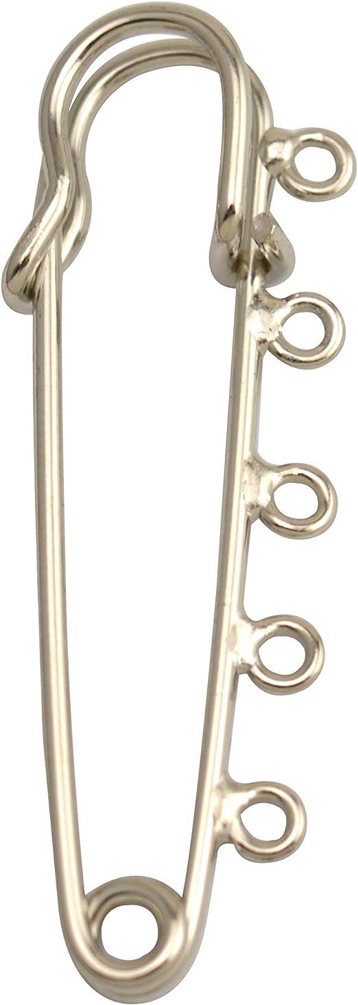 Wuuycoky Silvery /Épingle /à nourrice de s/écurit/é Couverture broches Tailles en option Lenght:50 mm,Width:12mm,10 Pcs