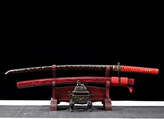 Best red damascus sword Reviews