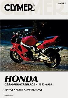 CLYMER MOTORCYCLE REPAIR MANUAL - HONDA CBR 900RR - 1993-1999 _M434-2