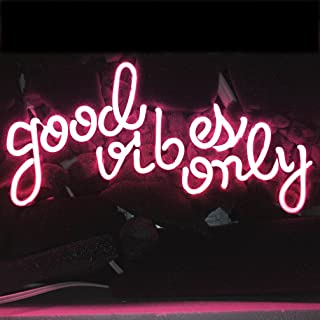 Best good vibes only neon sign Reviews