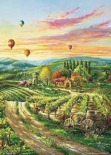 ビバリー 600ピースジグソーパズル 葡萄畑の休日(38×53㎝)66-198