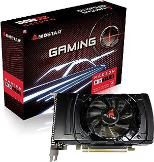 Biostar Radeon Gaming RX 550 4GB GDDR5 128ビット DirectX 12 PCI Express 3.0 x16 DVI-D デュアルリンク HDMI DisplayPort