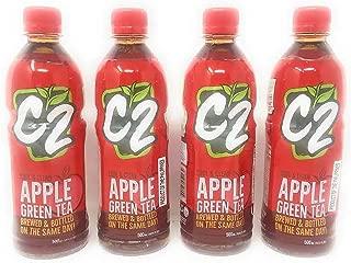 C2 Apple Green Tea 500ml, 4 Pack