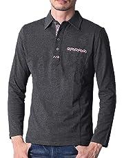 44dc9871cc470 liberte riche(リベルテ リッシュ) メンズ ポロシャツ poloシャツ 半袖 長袖 チェック柄 スポーツ ゴルフ