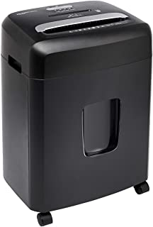 Amazon Basics 12 Sheet Micro-Cut Paper,Credit card and CD Shredder for Office/Home