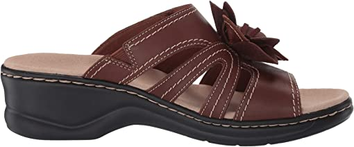 Dark Tan Leather Combi