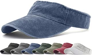 Sports Sun Visor Hats Twill Cotton Ball Caps for Men Women Adults Kids