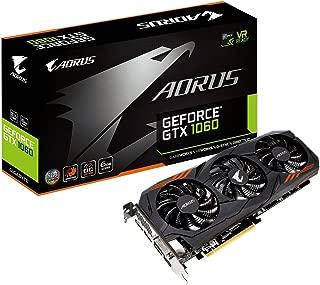 Gigabyte AORUS GeForce GTX 1060 6G REV 2.0 Computer Graphics Card - GV-N1060AORUS-6GD REV2.0