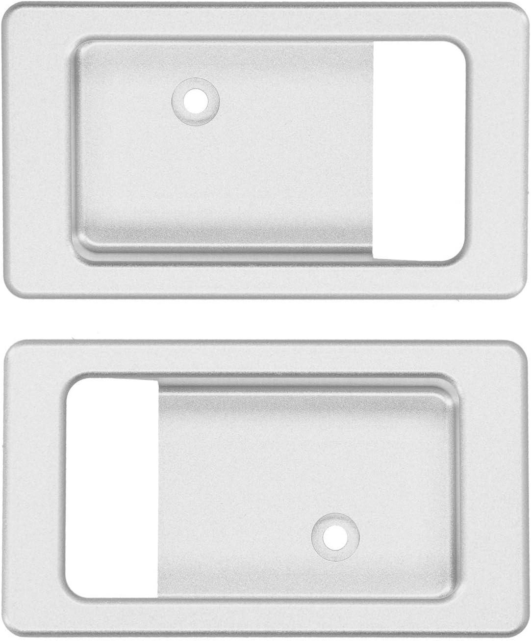 2Pcs Interior Door Handle Alloy Bowl Aluminium Complete Free Shipping Popular overseas Inner