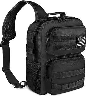 NOOLA Tactical Sling Bag Pack Military Rover Shoulder Sling Backpack Molle Pack Assault Range Bag