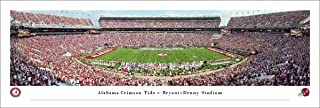 Alabama Crimson Tide Football - Panoramic Posters and Framed Pictures by Blakeway Panoramas
