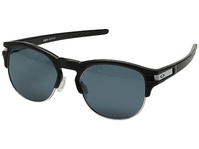 Oakley Latch Key M (52) (Matte Black w/ Prizm Grey) Athletic Performance Sport Sunglasses