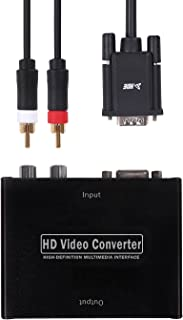 HDE VGA to HDMI Adapter for Sega Dreamcast VGA Cable with VGA to HDMI Converter Bundle for HD Retro Gaming