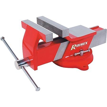 RIBIMEX PRETAU100/A Morsa da banco 100 mm in Acciaio