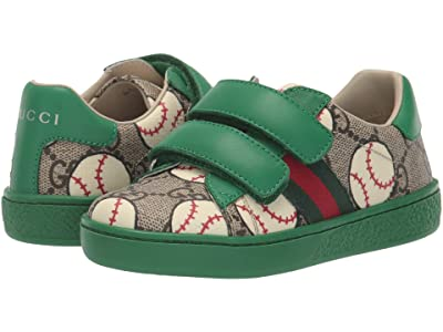 Gucci Kids New Ace V.L. Sneakers (Toddler) Boy