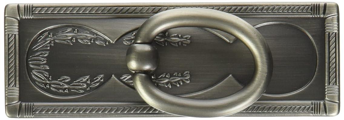Liberty Hardware P10112-904-C Vintage Ring Pull, 3-3/4