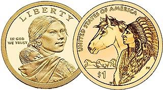 2012 P, D Native American (Sacagawea/Golden) Dollar 2 Coin Set Uncirculated