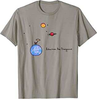 Little Prince Space Cow on Planets (color options available) T-Shirt