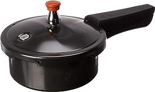 Ultra Ebony 2.0L Hard Anodized Pressure Cooker, 2 Liter