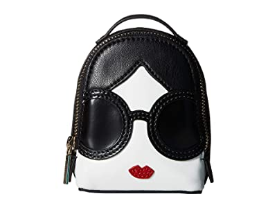 Alice + Olivia Backpack Bag Charm (Stacey Face) Wallet