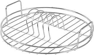 Escurreplatos Circular | Estante de drenaje redondo | Tablero de drenaje | Escurridor Redondo | Estante de secado de platos cromados | M&W
