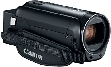 Canon VIXIA HF R80 Portable Video Camera Camcorder with Built-in Wi-fi, Full HD CMOS Sensor, 3.0-inch Touch Panel LCD, Dig...