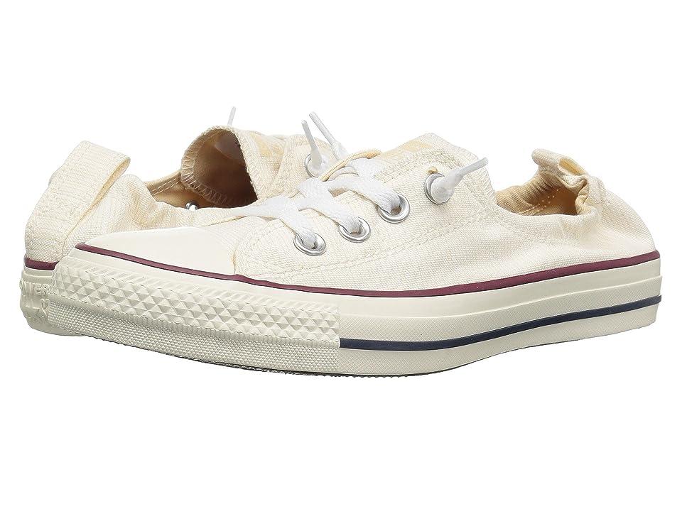 Converse Chuck Taylor All Star Shoreline Prep Style Slip (Light Twine/Egret/Egret) Women