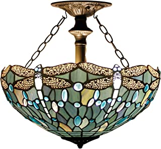 Best stained glass ceiling light Reviews