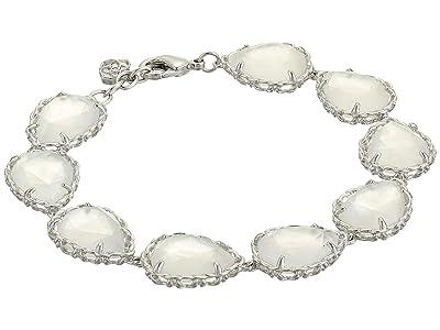Kendra Scott Kenzie Link Bracelet (Rhodium/Ivory Mother-of-Pearl) Bracelet