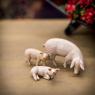 Fontanini Pig Family Animals Italian Nativity Villager Figurine Set of 3 54081