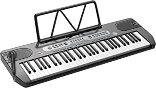 LAGRIMA LAG-740 61 Key Portable Electric Keyboard Piano with