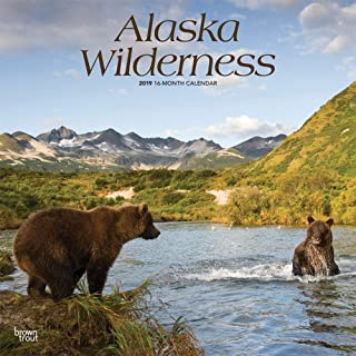 Alaska Wilderness 2019 12 x 12 Inch Monthly Square Wall Calendar, USA United States of America Noncontiguous State Nature (Multilingual Edition)