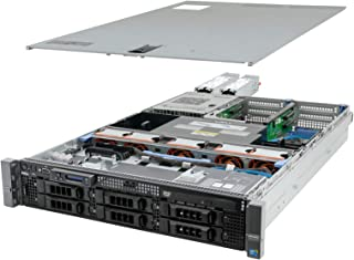 High-End Virtualization Server 12-Core 64GB RAM 12TB Raid PowerEdge R710 (Renewed)