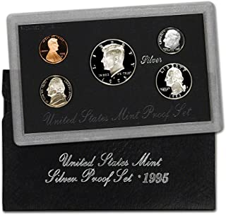 1995 us mint silver proof set