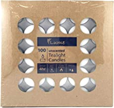 420114 Lume Tealight Candle 4 Hour Box100
