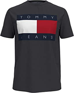Tommy Hilfiger Men's Tommy Jeans Short Sleeve Logo T Shirt