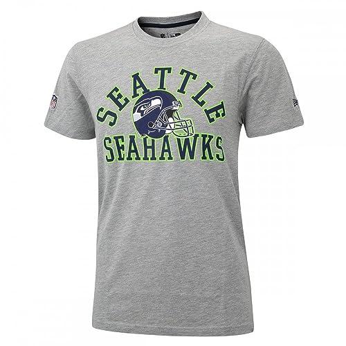 A NEW ERA Era Ne96449Fa16 NFL College tee Seasea Camiseta Manga Corta-Línea  Seattle Seahawks 3b2e7f9a63c