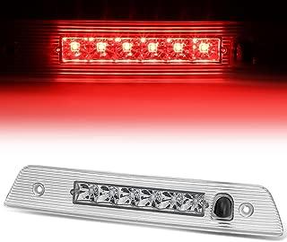 For Jeep Grand Cherokee WK Rear Hight Mount LED 3rd Third Tail Brake Light (Chrome Housing)