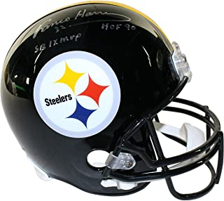 0a4f5f938 Franco Harris Signed Pittsburgh Steelers Full Size Replica Helmet w