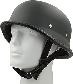 Classic Costume Carnival Skate Scooter Helmet Novelty German OSFM Flat Black