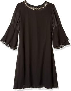 S.L. Fashions womens Sleeveless Bead Waist Maxi Dress Cocktail Dress
