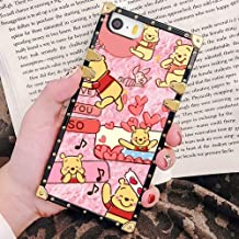 DISNEY COLLECTION Square Edge Cell Phone Case for Apple iPhone 5 (2012), iPhone SE (2016), iPhone 5S (2013) (5.5