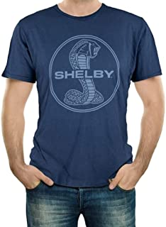 Shelby Mineral Wash Navy Tee T-Shirt | Officialy Licensed Shelby Product | 100% Cotton