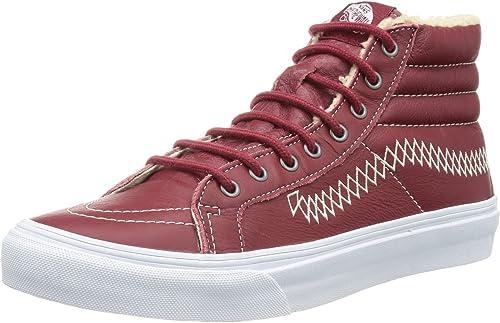 Vans Vans U Sk8-hi Slim (MOC) Rio rouge T, Basket Mixte Adulte