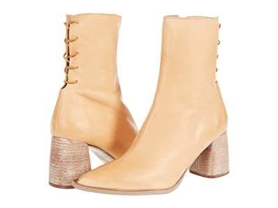 Free People Livia Laceback Heel Boot (Taupe) Women