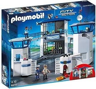 Playmobil City Action 6872 Politiebureau met Cel, vanaf 5 Jaar
