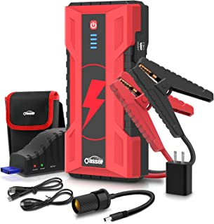 Oasser Car Jump Starter Battery Booster 1000A Peak 15000mAh Jump Box Portable Power Pack for up to 7.0L Gasoline and 5.0L Diesel Engine