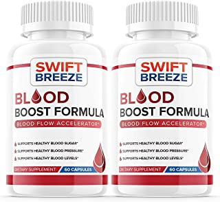 (2 Pack) Blood Boost Formula Pill Supplement, Blood Boost Formula for Diabetes Capsules - Blood Sugar Support for High Blo...