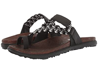 Merrell Around Town Sunvue Thong Woven (Black) Women
